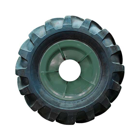 Photo of a tractor tire